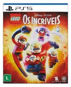 Lego Os Incríveis para PS5 - Mídia Digital