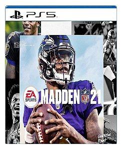 Madden NFL 21 para PS5 - Mídia Digital