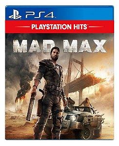 Mad Max para ps4 - Mídia Digital