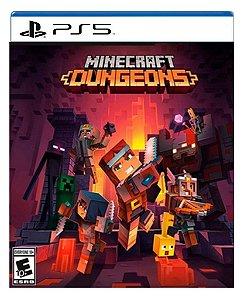 Minecraft Dungeons para ps5 - Mídia Digital