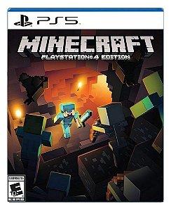 Minecraft para PS5 - Mídia Digital