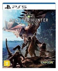 Monster Hunter World para ps5 - Mídia Digital