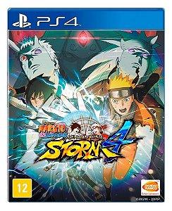 Naruto Shippuden Storm 4 para PS4 - Mídia Digital