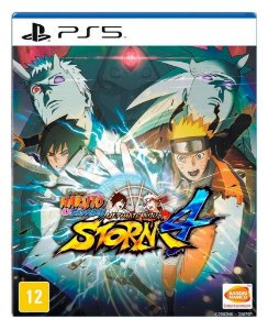 Naruto Shippuden Storm 4 para PS5 - Mídia Digital