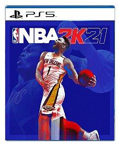 NBA 2K21 para PS5 - Mídia Digital