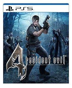 Resident Evil 4 para ps5 - Mídia Digital