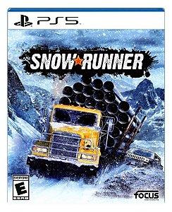 SnowRunner para ps5 - Mídia Digital