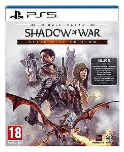 Terra-média™: Sombras da Guerra™ Edição Definitiva para ps5 - Mídia Digital