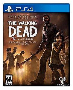The Walking Dead: First Season para ps4 - Mídia Digital
