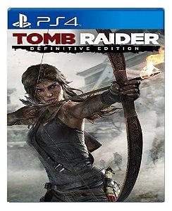 Tomb Raider Definitive Edition para ps4 - Mídia Digital