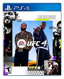 Ufc 4 para PS4 - Mídia Digital