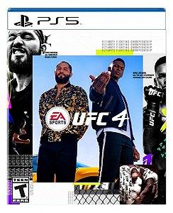 Ufc 4 para PS5 - Mídia Digital