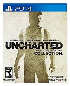 Uncharted The Nathan Drake Collection para ps4 - Mídia Digital