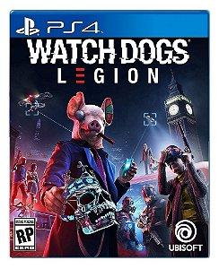 Watch Dogs legion para PS4 - Mídia Digital