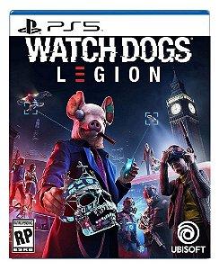 Watch Dogs legion para PS5 - Mídia Digital