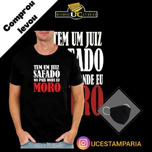CAMISETA UNISSEX : JUIZ SAFADO
