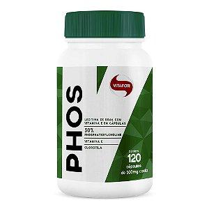Phos Lecitina de Soja (120 Cápsulas) - Vitafor