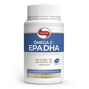Ômega 3 EPA e DHA 1g (60 Cápsulas) - Vitafor