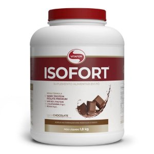 Whey Isolado Isofort (1,8kg) - Vitafor