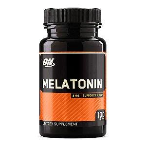 Melatonina Importada 3mg (100 Cápsulas) - Optimum Nutrition