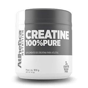 Creatina 100% Pure (300g) - Atlhetica Nutriton
