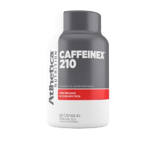 Cafeína Caffeinex 210mg (60 Cápsulas) - Atlhetica Nutriton