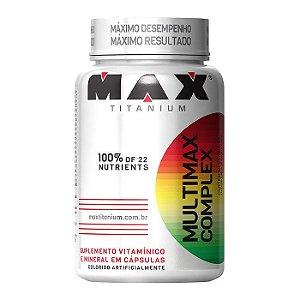 Multimax Complex (90 Cápsulas) - Max Titanium