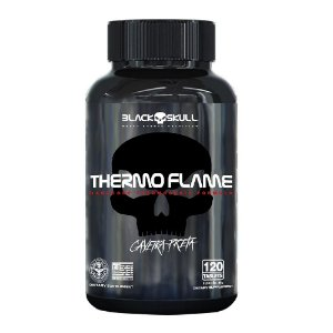 Termogênico Thermo Flame  (120 Tabletes) - Black skull