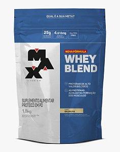 Whey Blend (1,8kg) - Max Titanium