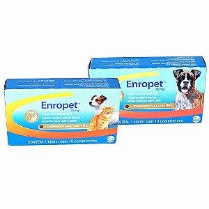 Antibiótico Enropet  - 10 Comprimidos