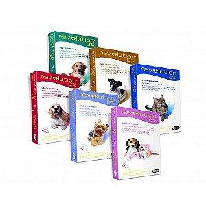 Antipulgas e Carrapatos Revolution para Cães e Gatos