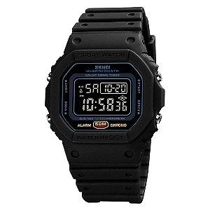Relógio Masculino Skmei Digital 1628 - Preto