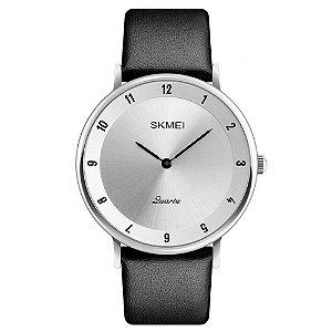 Relógio Unissex Skmei Analógico 1263 - Preto e Prata