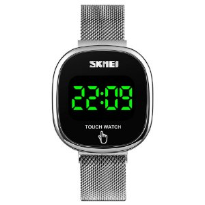 Relógio Unissex Skmei Digital 1589 - Prata