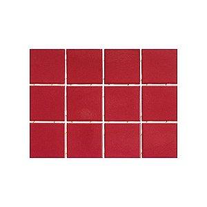 Revestimento Strufaldi Rojo 10x10 Cod. 1090