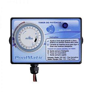 Timer Pool Matic – Pure Water – Bombas De Até 3 CV 220V