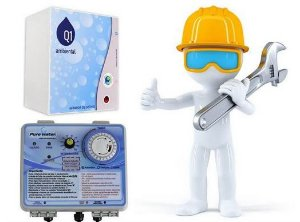 Instalação de ionizador / Gerador de Ozônio