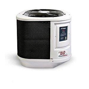 Trocador De Calor Aquecedor Piscina Fromtherm Ft80 (touch)