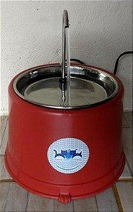 Fonte base especial com prato em inox 1,5 l