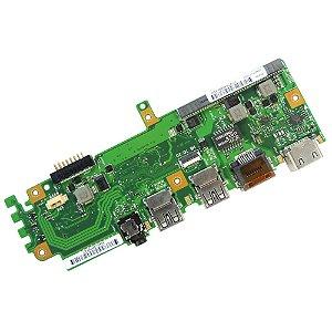 PLACA AUXILIAR USB / VGA / AUDIO / REDE ASUS Z550SA (9853)