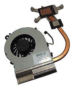 Cooler +dissipador Notebook Hp Compaq G42 606609-001 (13805)