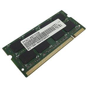 MEMORIA NOTEBOOK DDR2 2GB 667MHZ PC2-5300 2RX8 (9164)