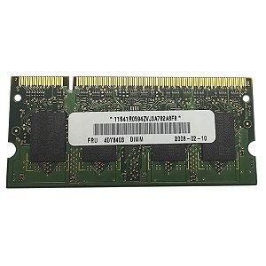 MEMORIA NOTEBOOK DDR2 1GB 667MHZ PC2-5300S 1RX8 (9235)