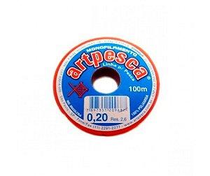 FIO DE NYLON ARTPESCA 0,20 ( 20 UN )