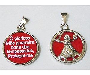 MEDALHA IANSA NIQUEL FRENTE E VERSO