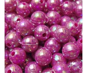 BOLINHA PINK IRIZADA 10MM (500GR)