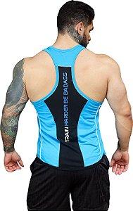 Regata Anatomic - Azul com Preto
