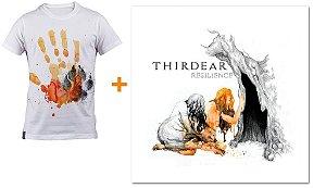 Promoção camiseta branca + CD