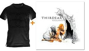 Promoção camiseta preta + CD