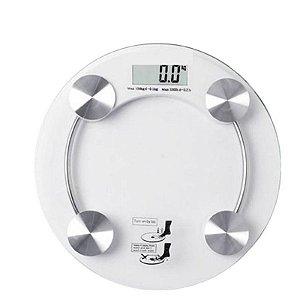 Balança Digital Personalizada De Alta Precisão Redonda - 180 Kg